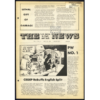 The Low Down to Hull & Back News, 22 novembre 1979