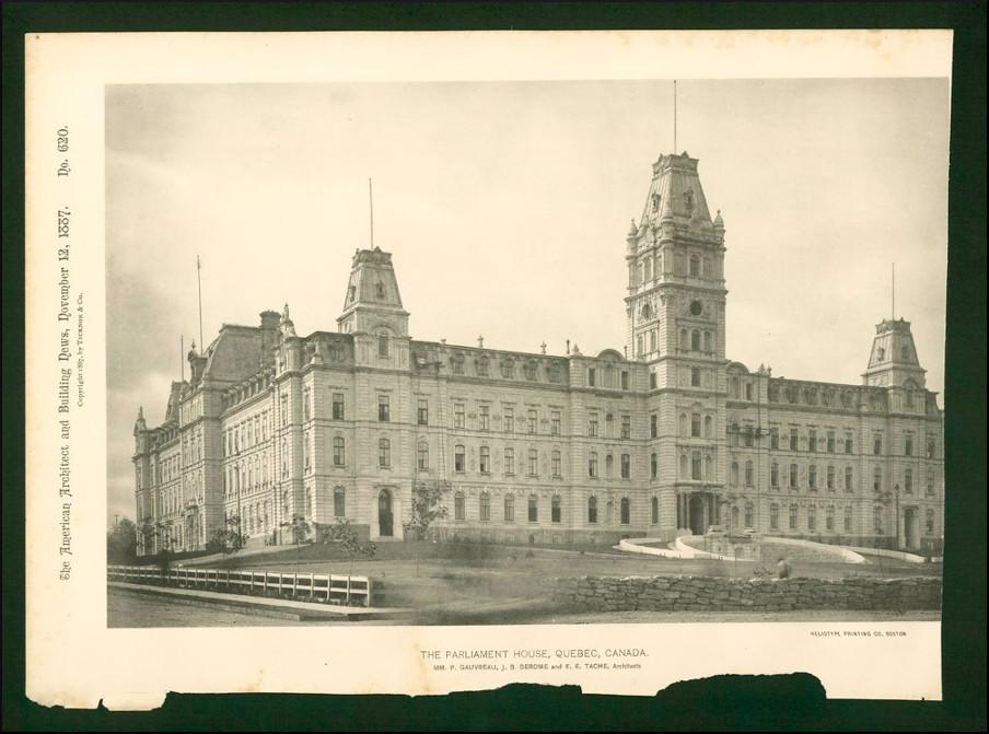 Le parlement, 1887.