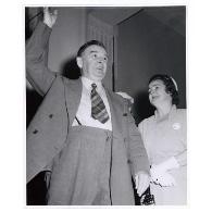 Activités de l'Union nationale lors de la campagne électorale de 1952